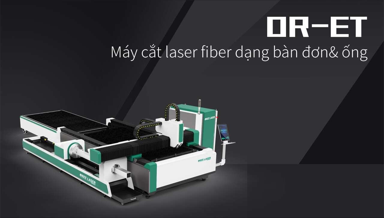 Máy cắt laser fiber dạng bàn đơn& ống  OR-ET
