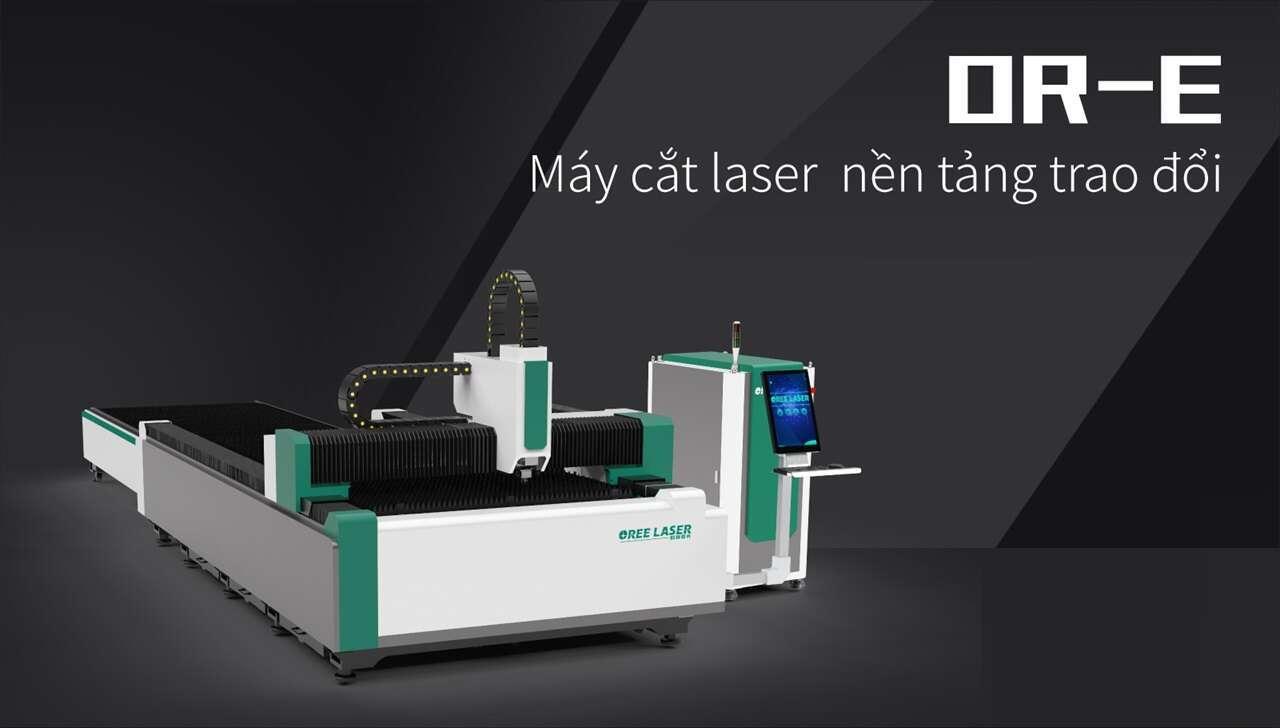 Máy cắt laser  1000w cho laser kim loại-Oree