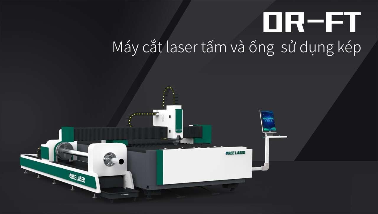 Máy cắt laser thiết kế mới 2018 cho tấm và ống laser-Oree