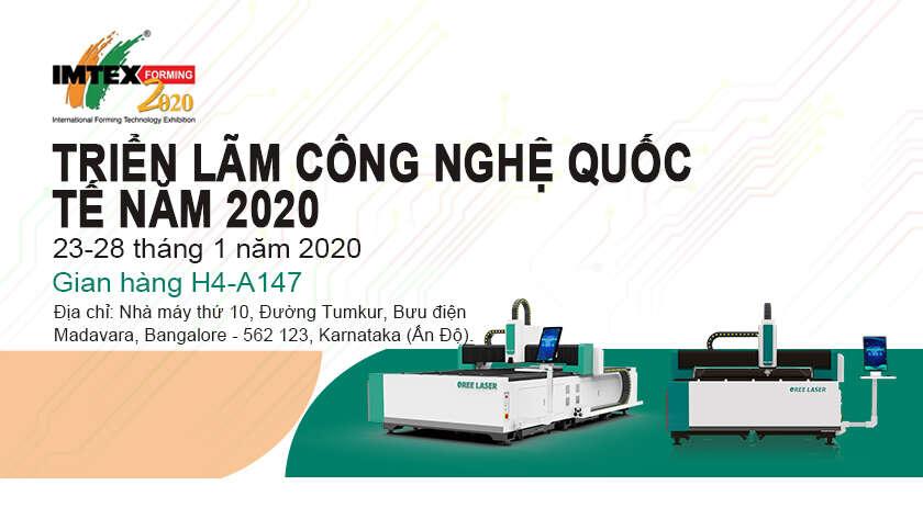 Hiển thị xem trước: Oree Laser sẽ tham gia triển lãm Ấn Độ Tool và Machine Tooling (IMTEX)